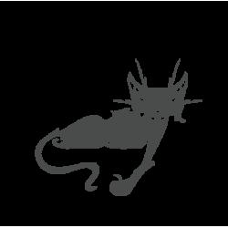 0028. Лежащий кот