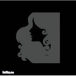 0054. Портрет девушки в профиль