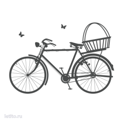 0089. Велосипед с корзинкой