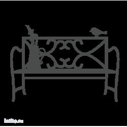 0090. Садовая скамейка