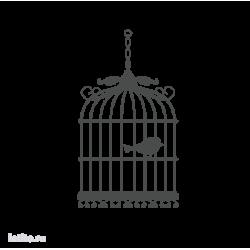 0091. Птичка в клетке