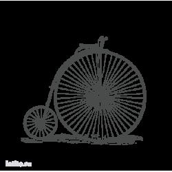 0129. Ретро велосипед