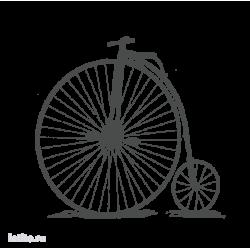 0130. Ретро велосипед