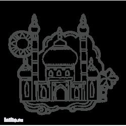 0184. Восточный дворец