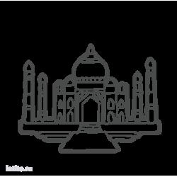0185. Тадж-Махал