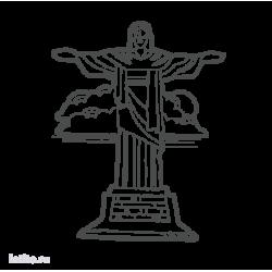 0186. Статуя Иисуса Христа