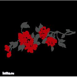 0203. Ветка с цветами
