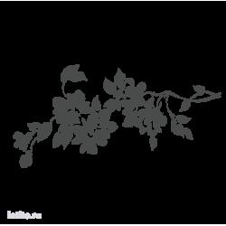 0204. Ветка с цветами