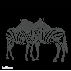 0207. Две зебры