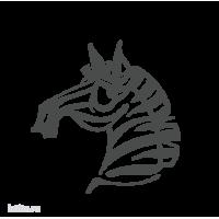 0210. Голова зебры