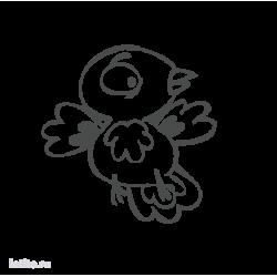 0221. Птичка