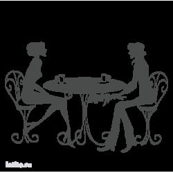0262. Пара за столиком