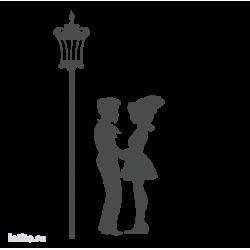 0263. Пара у фонаря