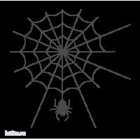 0267. Паук на паутине