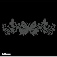 0270. Узор с бабочками