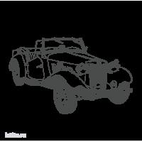 0397. Ретро автомобиль