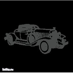 0402. Ретро автомобиль