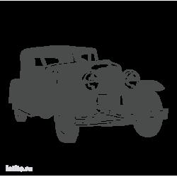 0405. Ретро автомобиль