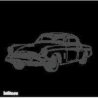 0411. Ретро автомобиль