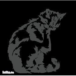 0503. Умывающийся кот