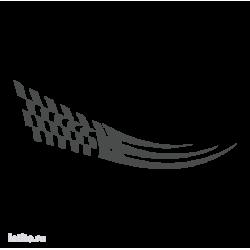0538. Полоса с финшиным флагом