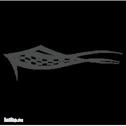 0542. Полоса с финшиным флагом