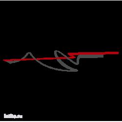 0602. Полоса двухцветная