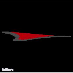 0614. Полоса двухцветная