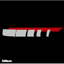 0615. Полоса двухцветная