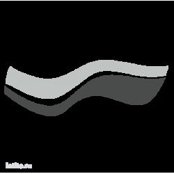0616. Полоса двухцветная