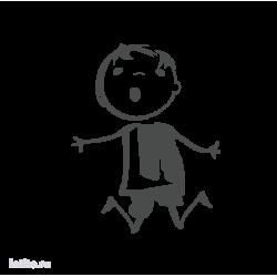 0634. Прыгающий мальчик