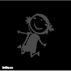 0639. Прыгающая девочка