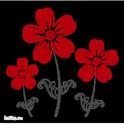 0644. Три цветка