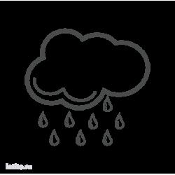 0665. Погода. Дождь