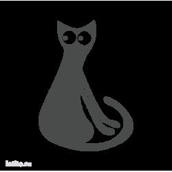 0684. Силуэт кота
