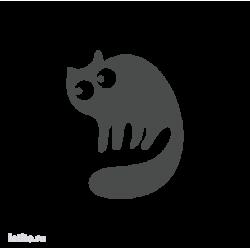 0685. Силуэт кота