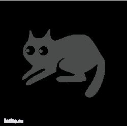 0687. Силуэт кота
