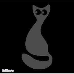 0688. Силуэт кота