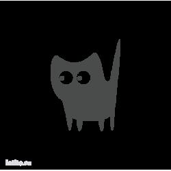 0690. Силуэт кота