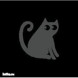 0691. Силуэт кота