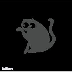 0692. Силуэт кота