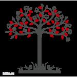 0808. Дерево с цветными листьями
