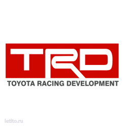 0869. TRD. Toyota Racing Development