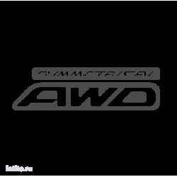 0987. Symmetrical AWD