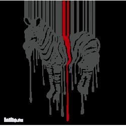 1113. Штрихкод с зеброй