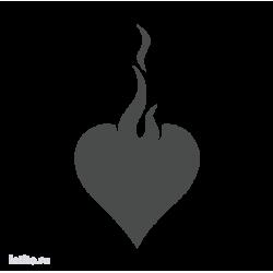 1403. Язык пламени в виде сердца