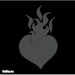 1421. Язык пламени в виде сердца
