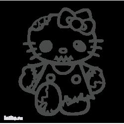 1863. Hello Kitty Zombie