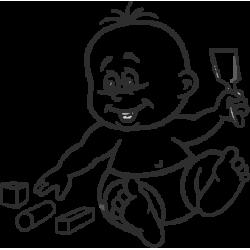 1997. Ребенок с совком