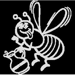 2008.  Пчелка с бензином